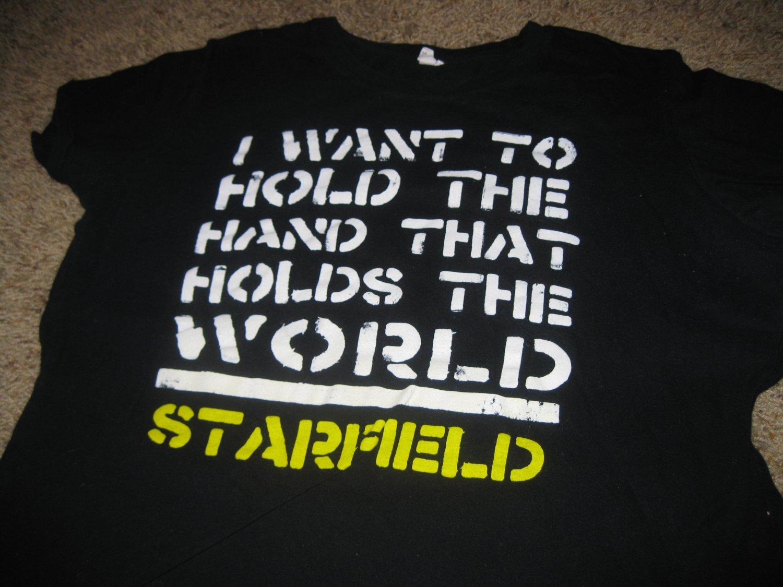 Starfield World Peace Shirt Size XL