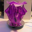 Purple Artsy Glass ELECTRIC OIL WARMER