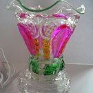 Yellow Pink Green  Crystal ELECTRIC OIL WARMER