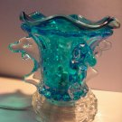 Blue Dolphin Crystal ELECTRIC OIL WARMER