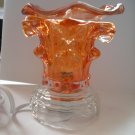 Orange 216 ELECTRIC Wax OIL WARMER Crystal ELECTRIC OIL