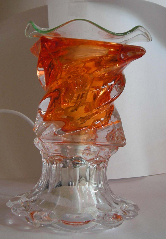 Orange Tall 129 ELECTRIC OIL WARMER
