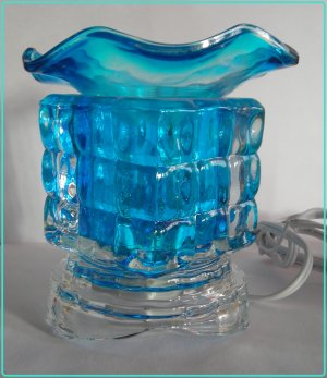 Blue ELECTRIC OIL Wax  WARMER 221