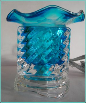 Blue ELECTRIC OIL Wax  WARMER 321