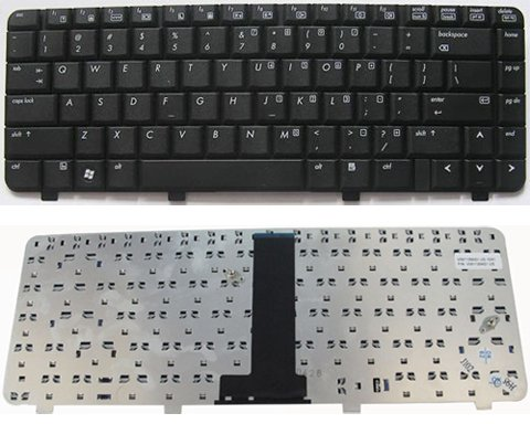 HP 540 541 550 laptop keyboard V061126AS1