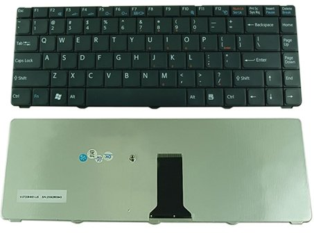 Black Sony VAIO VGN-NR NR498E NR110E NR385E NR220E NR260E NR160E NR180E NR310E NR430E keyboard