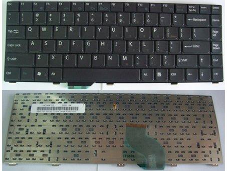 SONY Vaio VGN SZ Series laptop keyboard Black - 147964721