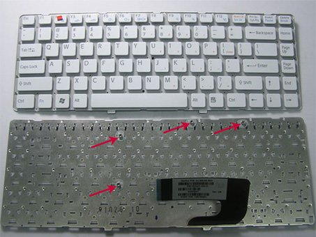 SONY Vaio VGN NW keyboard White - 1-487-387-11