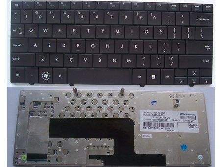 HP Mini/Mini-Note 110 Series Laptop Keyboard 535689-001 -- [Color: Black]