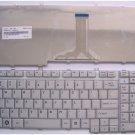 NEW Toshiba Satellite A500 A505 L350 L355 L505 L555 P500 P200Keyboard Silver NSK-TBD01, 9J.N9282.D01