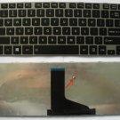 NEW Toshiba Portege M800 L800 L830 C800 M805 L805 US Keyboard with Silver frame