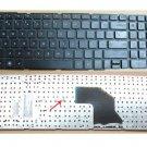 New HP Pavilion G6-2000 Keyboard Without Frame - us layout black