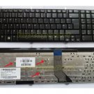 HP DV7-2185DX keyboard - HP Pavilion DV7-2185DX keyboard UK layout  Black