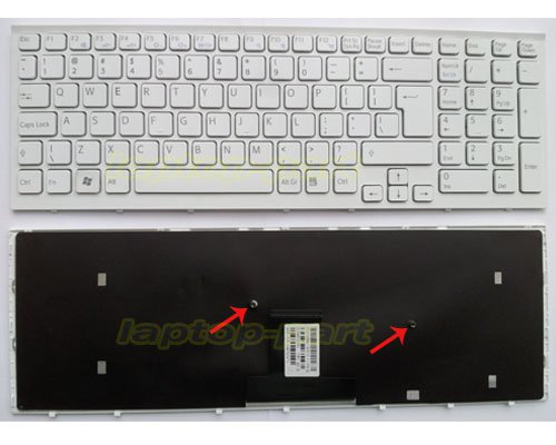 SONY Vaio VPC EB Series laptop keyboard White - 148793221,MP-09L23US-8861