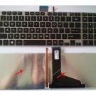 New US Toshiba Satellite L55 L55D L55T Keyboard --with Backlit ,black