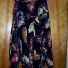 Vintage Skirt Karen Kane Exotic Butterfly Sassy Sexy Handkerchief Hemline Size 4