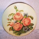 Vintage Metal Tin Original Paper Pic Cookies Romantic Prairie Country Roses Chic