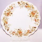 Vintage Plate Ridgway Antique Rose 4125 pattern Stafforshire England RARE 9.75""