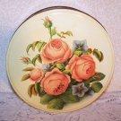 Vintage Tin Metal Original Paper Pic Cookies Romantic Prairie Country Roses Chic
