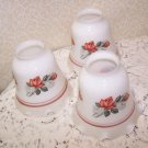 Vintage Light Shades Roses Romantic Prairie Cottage Chic Country Charm Replaceme