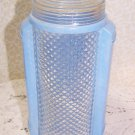 Vintage Light Shade Blue Table Lamp Romantic Chic Mid Century 40s 50 Mad Men Rar