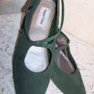 Vintage Shoes Holiday Re Enactor Renaissance LARP Theater Gr Suede SCA NICE 10M