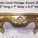 Vintage Shelf Gold Ornate Burwood Co Hollywood Regency Romantic Paris Apt Chic