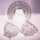 Fostoria American 2 Cups 1 Saucer Have Other Pieces Will Discount Multiple Purch