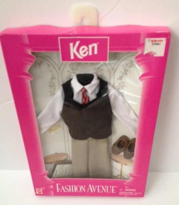 1996 Ken Fashion Avenue - Suit With vest