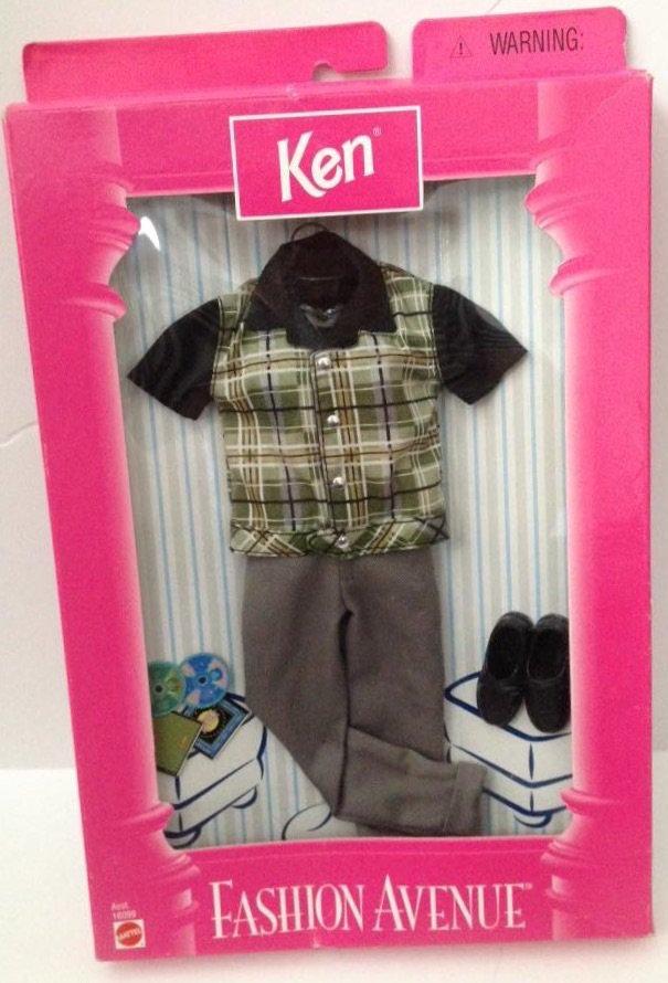 1998 Ken Fashion Avenue - Shirt with pants