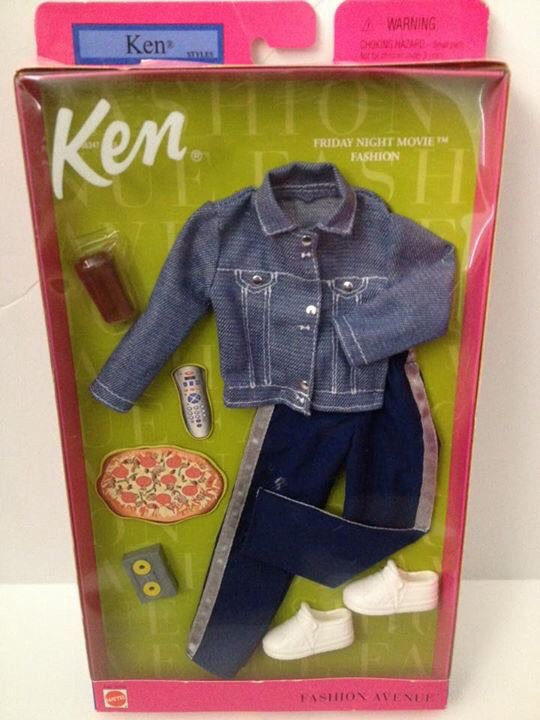 2002 Ken Fashion Avenue -  Friday Night Movie