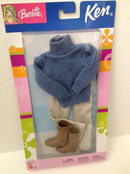 2003 Ken Fashion Avenue - Blue Sweater