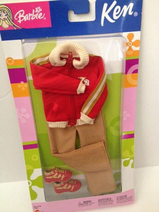 2003 Ken Fashion Avenue - Red Jacket