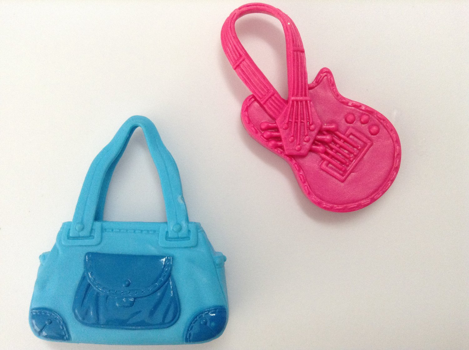 2 Barbie Fashion Doll Purses