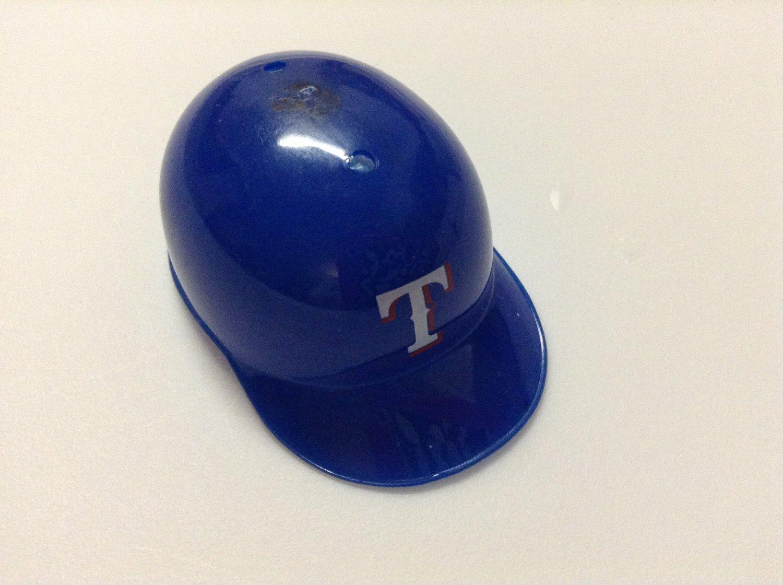 MLB Mini Helmet - Fits Barbie - Texas Rangers
