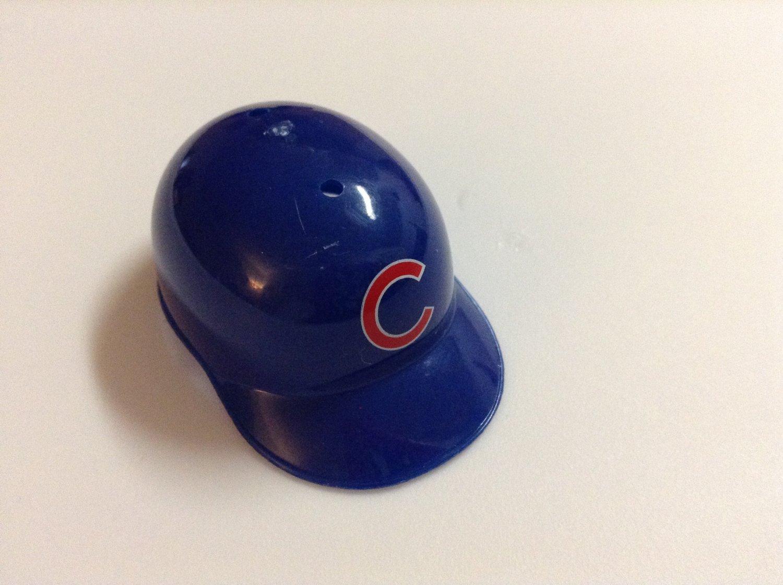 MLB Mini Helmet - Fits Barbie - Chicago Cubs