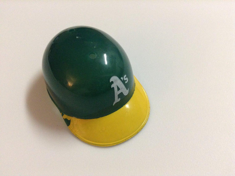 MLB Mini Helmet - Fits Barbie - Oakland Athletics