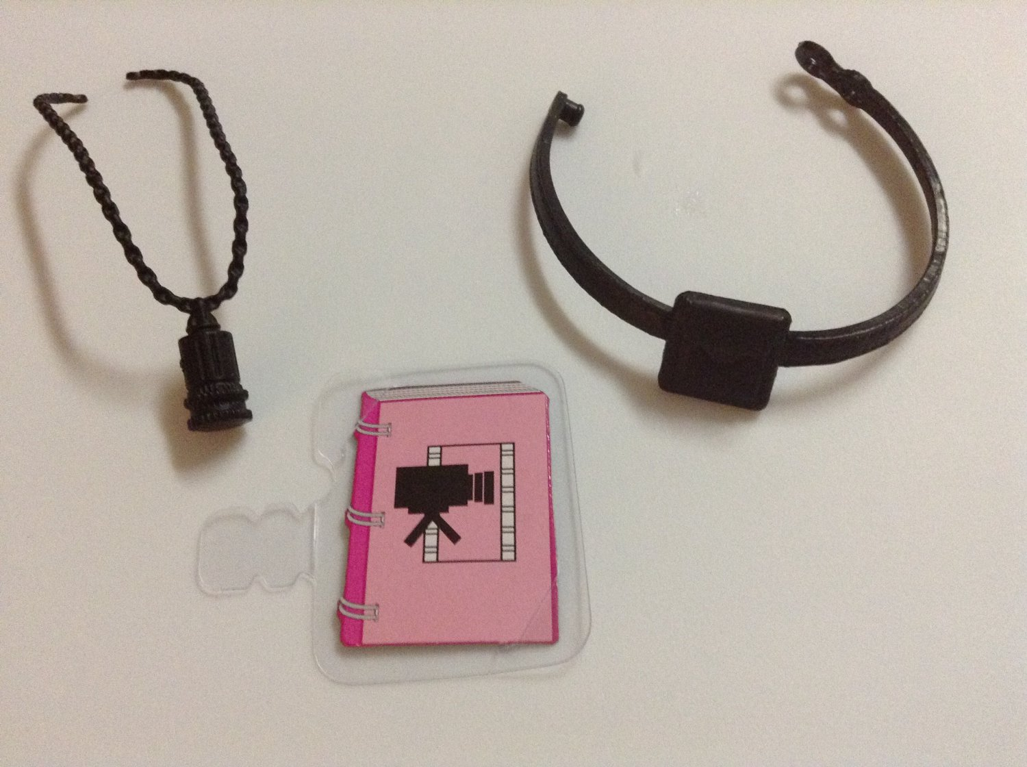 Film Maker Barbie Accessories