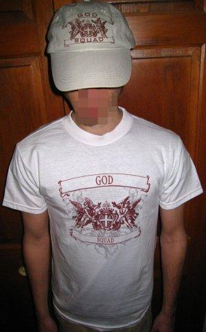 GOD SQUAD T-SHIRT & HAT NEW  S-M-L-XL  $29.95