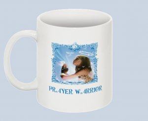 Prayer Warrior CUP 11oz  NIB $12.50