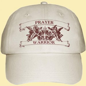 Prayer Warrior Hat adjustable  $19 + $4 SH