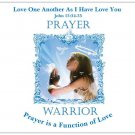 Prayer Warrior Magnet  Large  5.4 x 4.2  $3.50