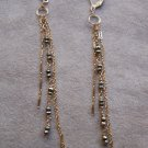 Pyrite Dangle Earrings