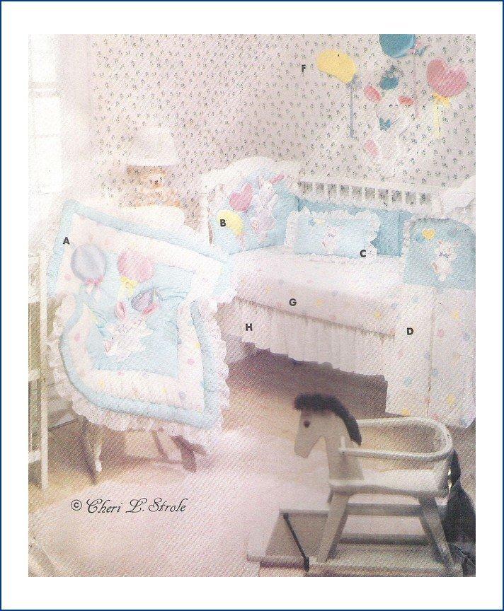Butterick 6549 Uncut Sewing Pattern Baby's Nursery