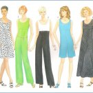Butterick 4995 Uncut Sewing Pattern Misses Dress Jumpsuit 6 8 10 12