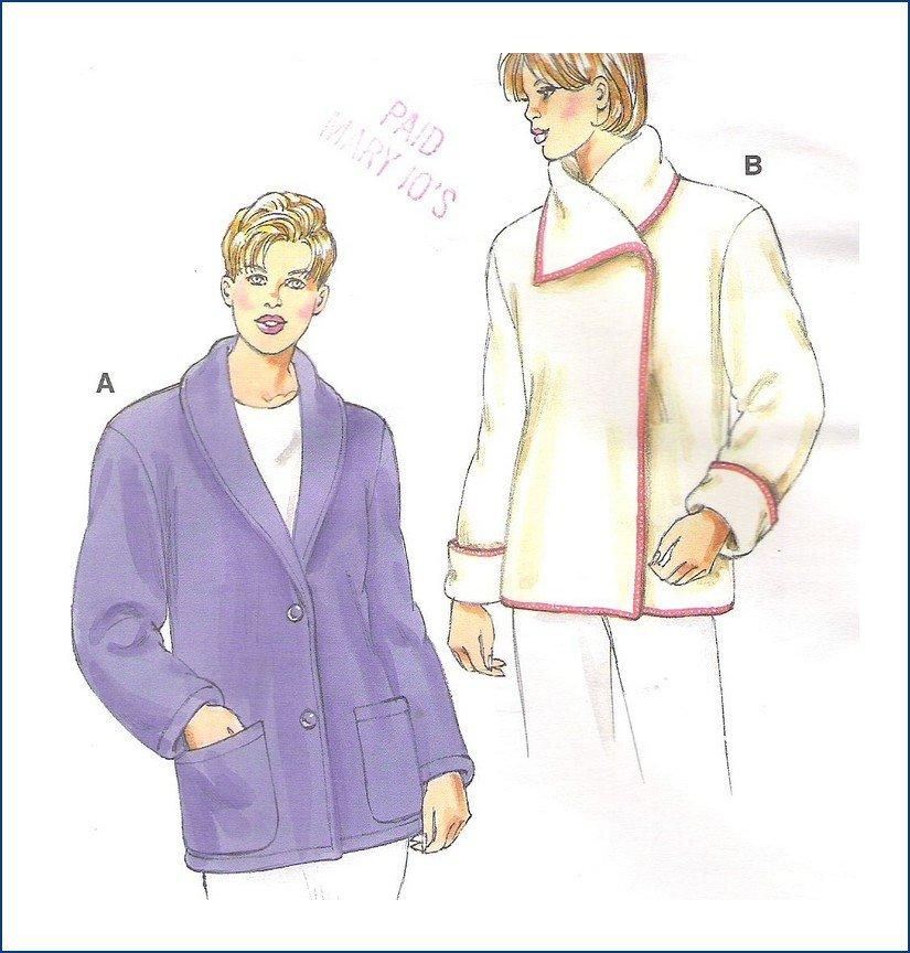 Kwik Sew Sewing Pattern 3096 Uncut Misses Jacket Sizes XS-XL