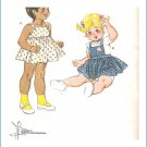 Kwik Sew Sewing Pattern 1081 Toddler Sundress Size 1T-4T