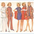 Vintage Butterick Sewing Pattern 5551 Misses Coat Dress Size 14