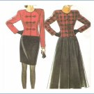 New Look  6008 Sewing Pattern Misses Jacket Skirts Size 8-18