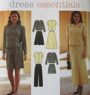 Simplicity Sewing Pattern 7182 Misses Dress Essentials Size 6 8 10 Uncut